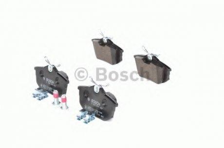 0986424427 BOSCH Тормозные колодки дисковые задние MITSUBISHI 1,6-1,9: Carisma, Spase Star 00-; VOLVO 1,6-2,0 S40/V40 97-