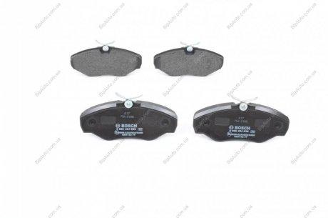 0986424636 BOSCH Тормозные колодки дисковые передние RENAULT Trafic 01-; OPEL Vivaro 01-