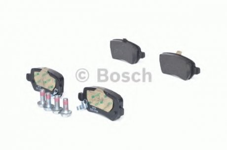 0986424646 BOSCH Тормозные колодки задние OPEL Astra G/H, Combo II, Zafira
