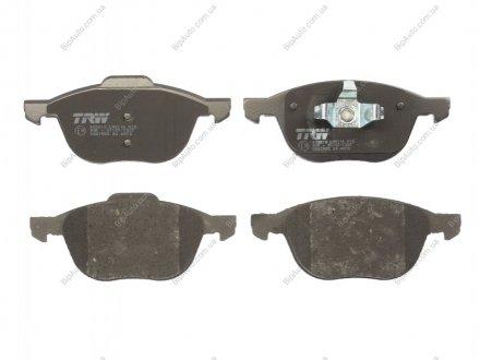GDB1583 TRW Комплект тормозных колодок, дисковый тормоз