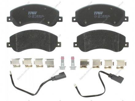 GDB1724 TRW Комплект тормозных колодок, дисковый тормоз