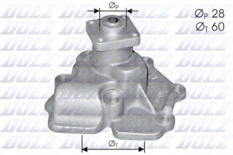 F114 DOLZ Насос водяной FORD TRANSIT 2.5D / 2.5TD 85->