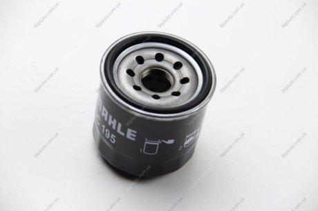 OC 195 MAHLE / KNECHT Фильтр масляный Mazda, Subaru MAHLE