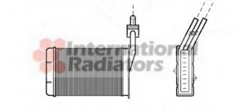 43006101 Van Wezel Радиатор отопителя R21 ALL MT/AT 86-95 (LHD) ()