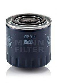 WP914 MANN Фильтр масляный RENAULT MASTER I 2.5 D (пр-во )