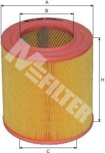 A269 M-FILTER Фильтр воздушный MAZDA 626 2.0D (пр-во M-Filter)