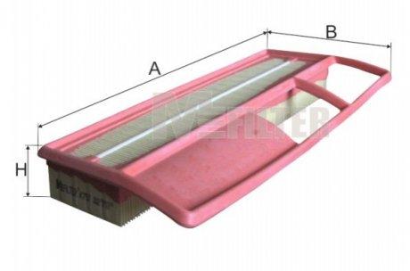 K757 M-FILTER Фильтр воздушный FIAT PUNTO (пр-во M-filter)