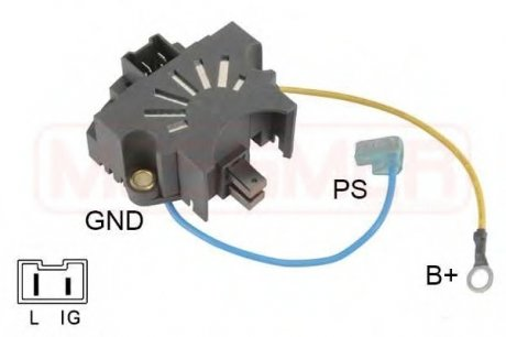 215736 ERA Регулятор генератора (пр-во )