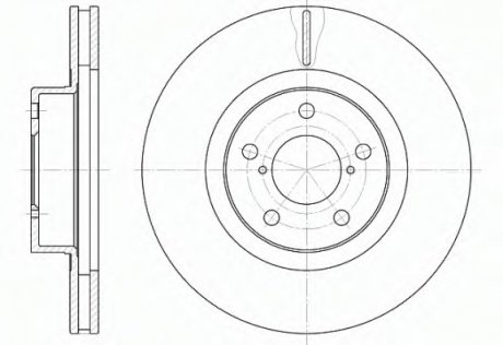 671510 ROADHOUSE Тормозной диск