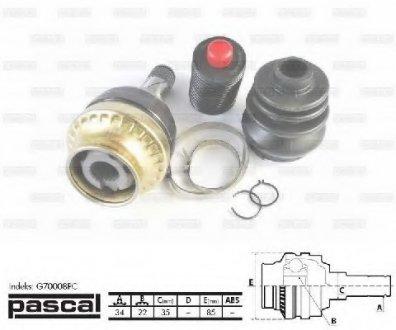 G70008PC PASCAL ШРУС внутрышный <8708999798>