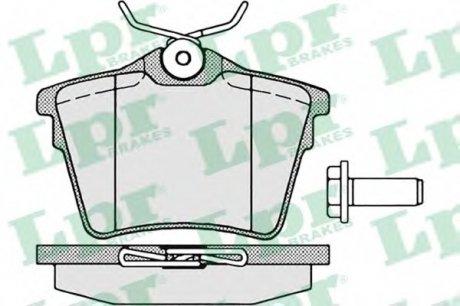 05P1195 LPR Тормозные колодки дисковые