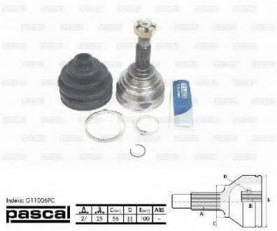 G11006PC PASCAL Шарнирный комплект, приводной вал